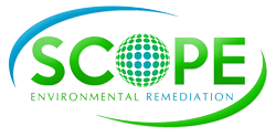 Scope Clean – Scope Environmental Remediation Sticky Logo