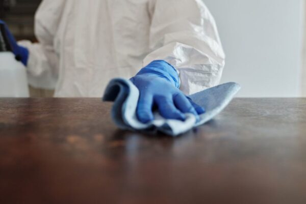 deep cleaning and disinfection