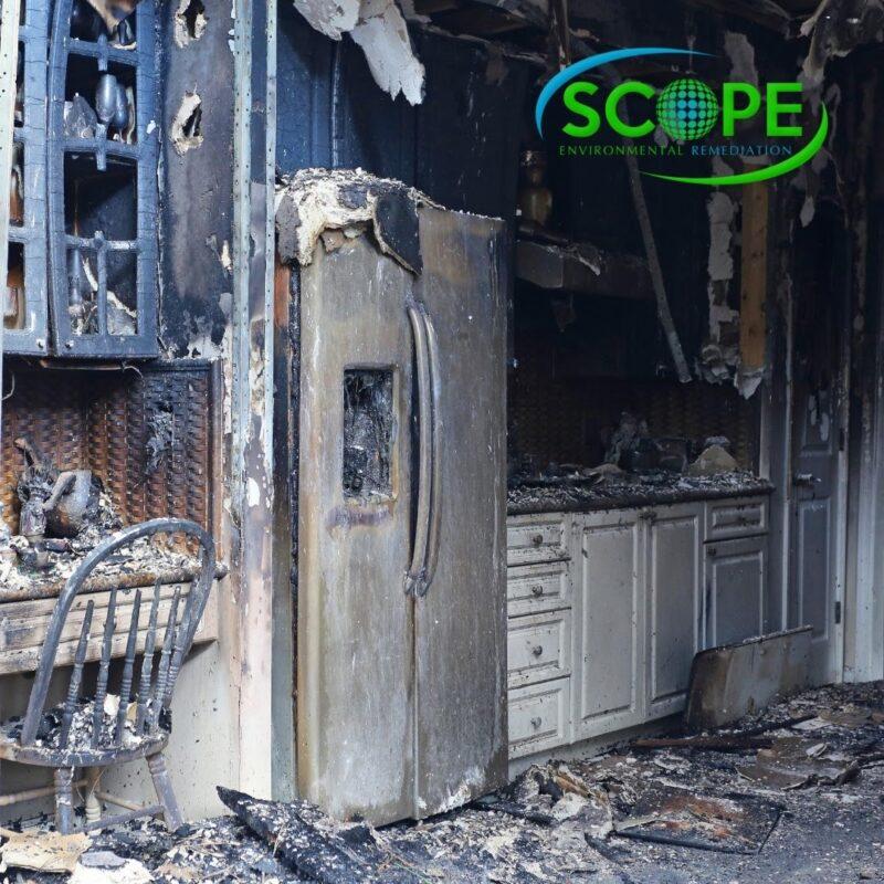 fire damage in Los Angeles