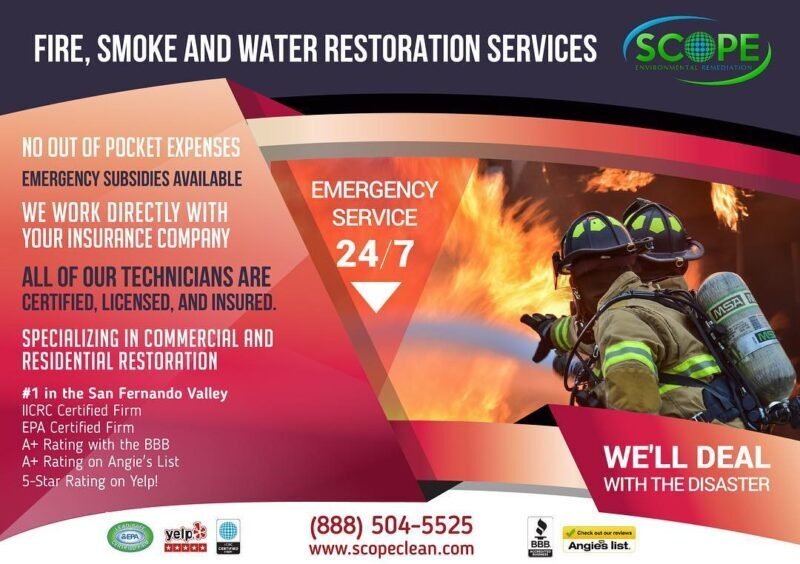 fire damage restoration in Los Angeles