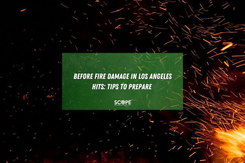 fire damage cleanup Los Angeles