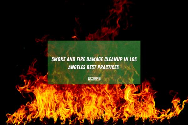 fire damage restoration Los Angeles